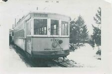 M584 RP 1948 RP UNITED ELECTRIC RAILWAY TROLLEY #2122  BUTLER LINE  PROVIENCE RI