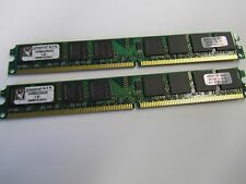 4GB 2X2GB PC2 6400 800MHz Dual CH Non-ECC DDR2 Low Profile