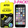 Premium Screen Protector Real Tempered Glass Film for iPhone 10/X 8 8 Plus 7 6