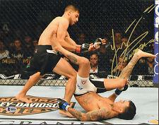 YAIR PANTERA RODRIGUEZ SIGNED AUTO'D 11X14 PHOTO BAS COA UFC 197 192 188 180 A