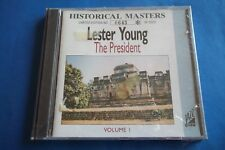 """LESTER YOUNG """" THE PRESIDENT VOL. I """" CD JAZZ VIEW 029 RARO SEALED"""