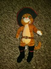 """Puss In Boots Shrek The Third Ty Beanie Baby Stuffed Animal Toy 8"""""""