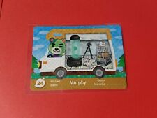 Animal Crossing New Leaf Welcome Amiibo Card ACNL # 24 Murphy - UK PAL version