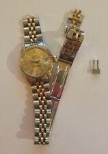 1976 Vintage Rolex Datejust Ladies 2Tone 14K Yellow Gold Watch Jubilee 6517
