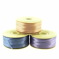 NYMO Beading Thread Size D for Delica Beads,  Lt Pink, Blue & Lilac 64 Yards/ea