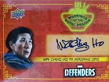 2018 Upper Deck The Defenders Wai Ching Ho as Madame Gao Autograph Auto