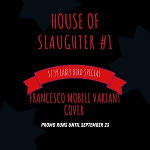House of Slaughter #1 Francesco Mobili Trade Dress Variant