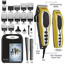 Wahl Pro Hair Cutting Kit Professional Barber Machine Clipper Haircut Trimmer 22