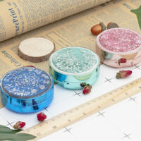 1pc Contact Lenses Storage Case Portable Round Durable Contact Lens Box for Home