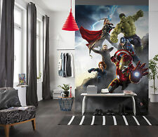 Paper wallpaper 184x254cm Marvel Comics heroes wall mural Hulk - childrens room