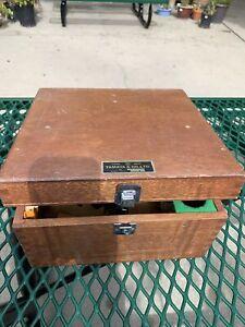 Vintage Tamaya Master Marine Sextant Model 2  Serial No: 695407 AS IS