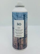 R+Co Grid Structural Hold Setting Spray  Heat Protection 5 oz -Missing Cap