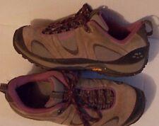 Patagonia Pinhook Burlap hiking shoes womans 8.5 GUC gray purple tie front