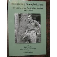 Interpreting Occupied Japan BCOF Soldier Diary new book