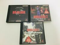 PlayStation Resident Evil Bio 1 2 3 Dual Shock Ver set PS1 Japan Game From Japan