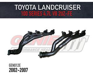 GENIE Headers / Extractors to suit Toyota Landcruiser 100 Series V8 4.7L