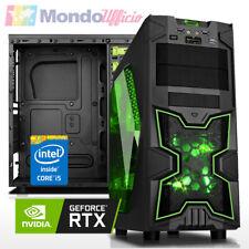 PC GAMING Intel i5 8400 6 Core - Ram 16 GB - SSD - HD 2 TB - nVidia RTX 2060
