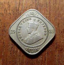 INDIA, BRITISH - 1923B - 2 ANNAS - GEORGE V - CU/NI.  NICE DETAILS. KM#516 HES
