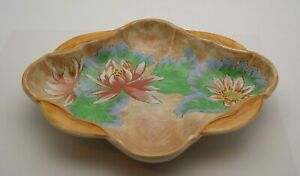 FINE ROYAL DOULTON WATER LILY D6134 BOWL c.1930/40's - PERFECT