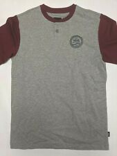Vans New Denton Short Sleeve T-Shirt Youth Boy's Size Medium Gray