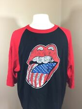 The Rolling Stones Zip Code 2015 North American Tour 2xl  Shirt Jersey Style Roc