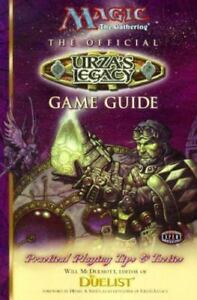 MtG - Official Urza's Legacy Game Guide - Magic the Gathering