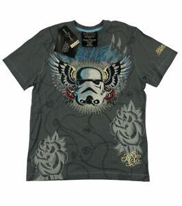 2008 Marc Ecko Cut & Sew Star Wars Stormtrooper Gray Mens T-Shirt Size Medium M