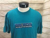 Vintage Wilson Athletic Wear T-Shirt Men's L Short Sleeve USA Spellout