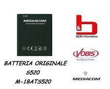 BATTERIA ORIGINALE MEDIACOM PHONEPAD DUO S520 cod. M-1BATS520