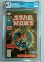 CGC STAR WARS #1 (6.5) $0.35 COVER MARVEL 1977 RARE REPRINT A NEW HOPE MOVIE
