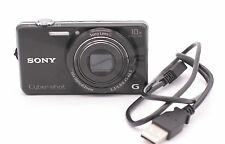 Sony Cyber-shot DSC-WX220 18.2 MP Digital Camera - Black