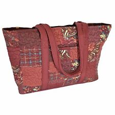 Donna Sharp Faith Shoulder Bag (Travel, Carry-On, Baby, Work) in Autumn Patch