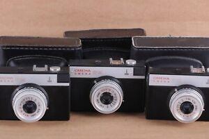 Camera Smena 8M LOMO 35mm Soviet LOMOGRAPHY Vintage Russian USSR LOT / 3 PCS.
