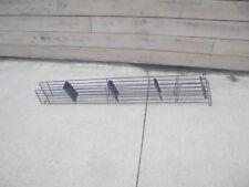Small Metal Rack Industrial Metal Art Deco Toy Train Bridge Support Blue