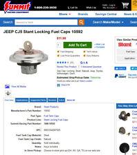 Fuel Tank Cap-Regular Locking Fuel Cap Stant 10592- Jeep CJ