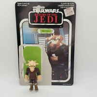 Vintage 1983 Star Wars ROTJ REE-YEES Action Figure with Original Cardback