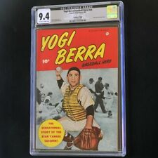 Yogi Berra Baseball Hero (Fawcett 1951) 💥 CGC 9.4 💥 HIGHEST GRADED! Comic Book