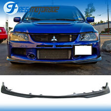For 06-07 Mitsubishi Lancer Evo 9 IX Type Sport Front Bumper Lip Urethane