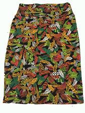 NWT LuLaRoe Cassie Skirt  Multi Color Pencil Skirt Fall Leaves Size M