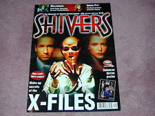 SHIVERS # 39 - Millennium, Ingrid Pitt, The X-Files, American Gothic poster