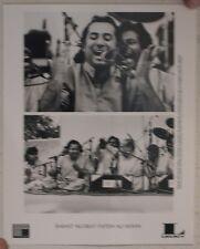 Rahat Nusrat Fateh Ali Khan Press Kit And Photo Mint
