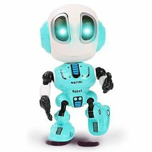 Talking Robots for Kids Mini Robot Toys That Repeats What You Say Colorful Gift