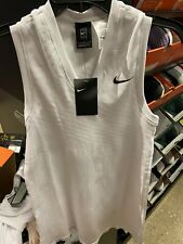 Nike Women's Maria Sharapova Seamless Tennis Dress AT5104-100 White Small