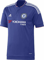 Genuine Adidas Chelsea Junior Home Shirt 2015-16, 11/12, 13/14, 15/16 Years