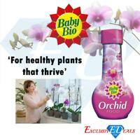 Baby Bio Concentrated Orchid House Plant Food Drip Fertiliser - 175ml