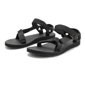 Teva Womens Original Universal Sandal- Black Sports Outdoors Breathable