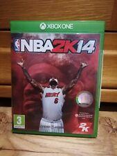 Xbox One Spiele NBA 2k14 Retro Basketball komplette manuelle Familie Spaß Free p&p VGC