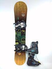 Women's Snowboard Package, Matrix Snowboard 140cm, Matrix Bindings, Burton Boots