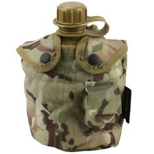 Army Style Military Patrol Water Bottle Belt Pouch BTP Camo Camping Canteen