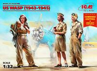 ICM 32108 - 1:32 scale US WASP (1943-1945) (3 figures) DE